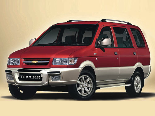 Chevrolet Tavera For Rent In Cochin, Kerala