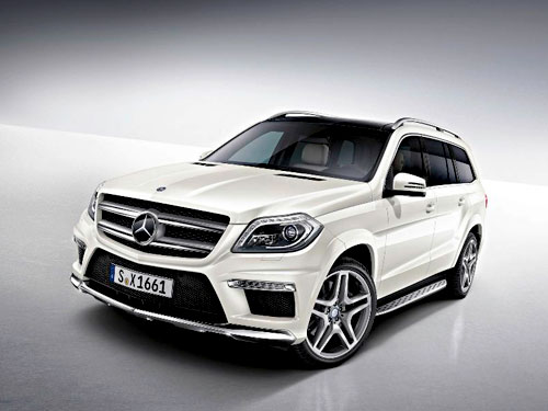 Benz GL 350 For Rent In Cochin, Kerala