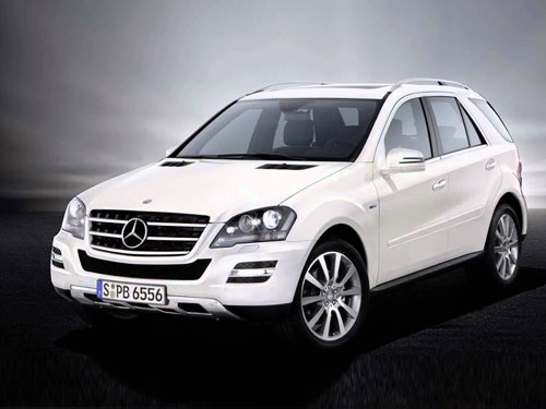 Benz ML 250 For Rent In Cochin, Kerala