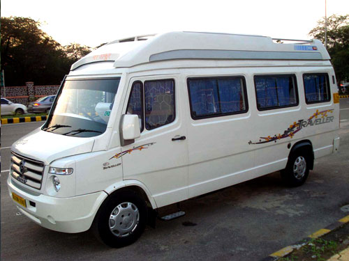 Tempo Traveller 17 Seated A/c) For Rent In Cochin, Kerala