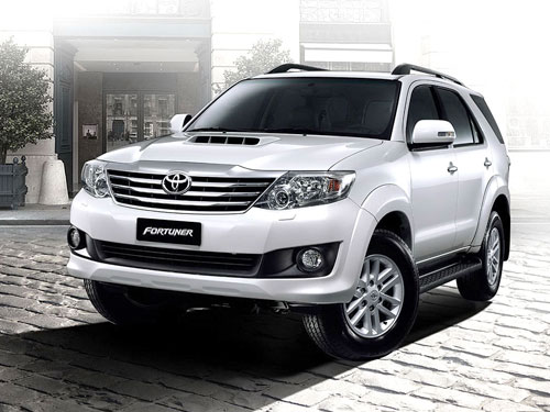 Toyota Fortuner For Rent In Cochin, Kerala